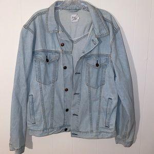 🍁 Oversized Look Jean Jacket - S/M